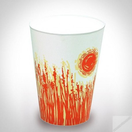 Hot Paper Cup 8oz 50's Sun Pattern