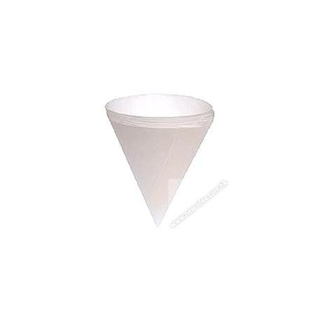 尖底紙杯 4安士 250隻 白色