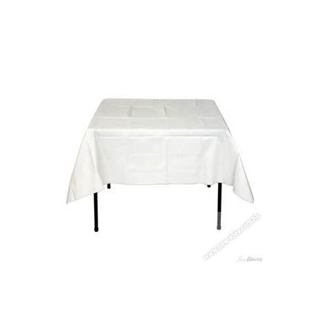 """Table Cloth 66""""x66"""" 50Sheets White"""