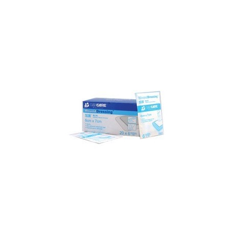 Cancare Adhesive Wound Dressing 6cmx7cm 6's