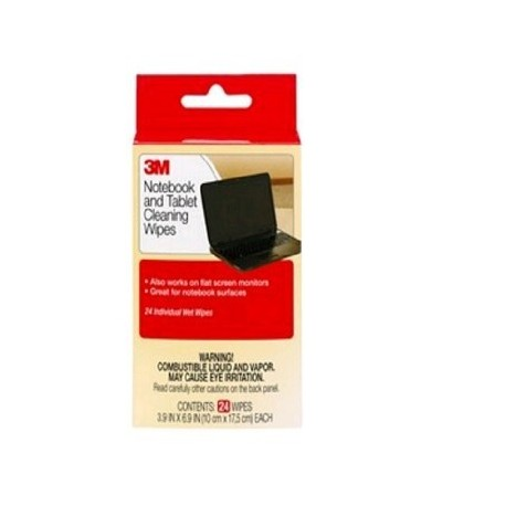 3M CL-630 Notebook Screen Cleaning Wipes 24's
