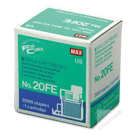 Max 20FE Cassette Staples For EH-20F 2000's
