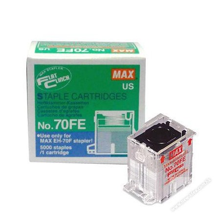 Max 70FE Cassette Staples For EH-70F 5000's