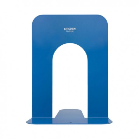 "Deli 9262 Book End 7.5"" Blue"