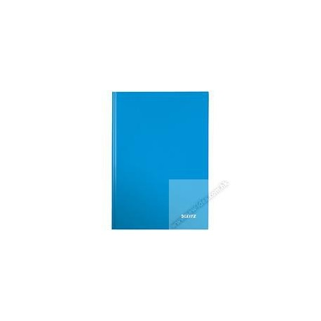 Leitz 4625 Gloss Hard Cover Book A4 80Pages Blue