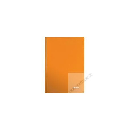 Leitz 4625 Gloss Hard Cover Book A4 80Pages Orange