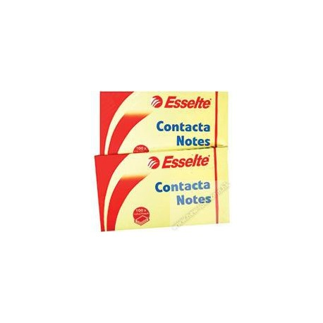 "Esselte 83001 Contacta Note 3""x5"" Yellow"