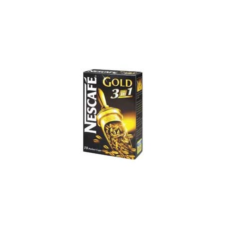Nestle Nescafe Gold 3-in-1 18g 10Packs