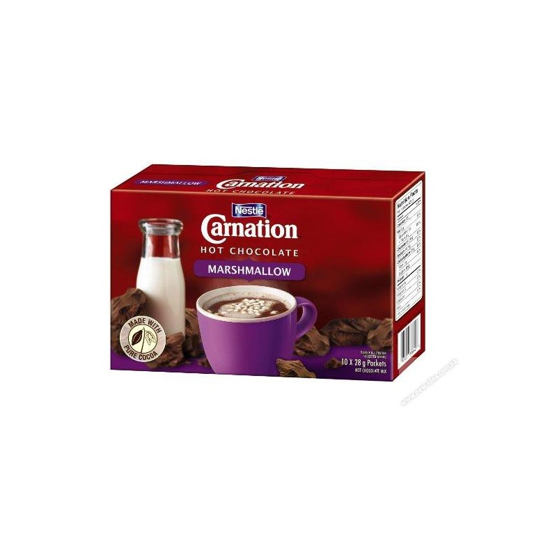 Carnation Hot Cocoa Mix W Marshmallow 25g 10packs