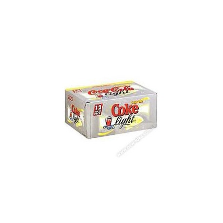 Coca-Cola Light Soft Drink Lemon Flavored 330ml 12Cans