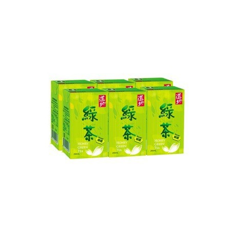 Tao Ti Honey Green Tea 250ml 6Paper-packed