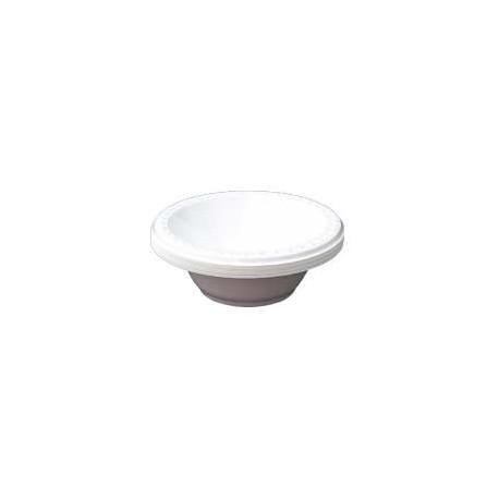 Plastic Bowl 12oz 10's White