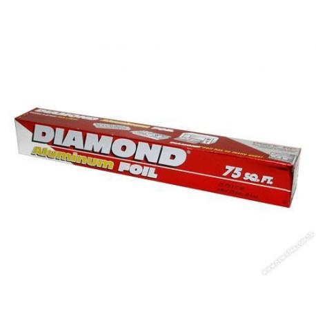 """Diamond Aluminium Foil 12""""x75'"""