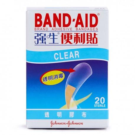Johnson Adhesive Bandages 20's Clear