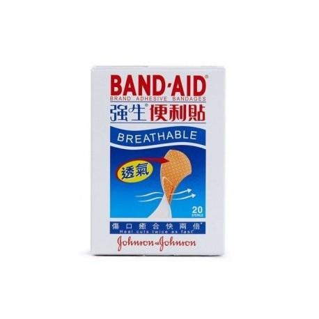 Johnson Breathable Adhesive Bandages 20's Skin
