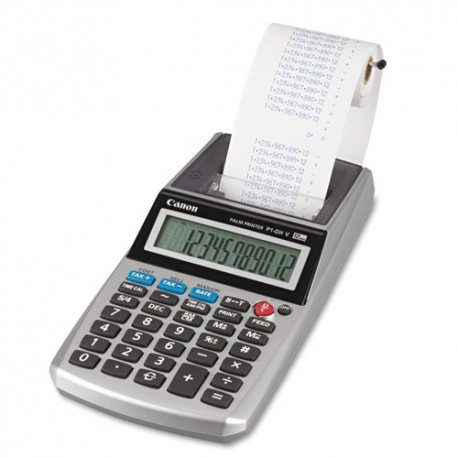 Canon P1-DHV-3 Print Calculator 12 Digits