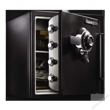SentrySafe SFW123DTB Double Lock Security Fire Safe
