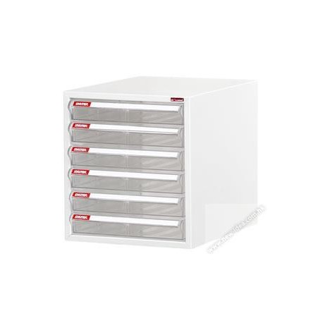 Shuter A4-106P Desktop Cabinet With 6-Drawer