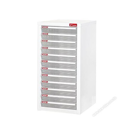 Shuter A4-112P Desktop Cabinet With 12-Drawer