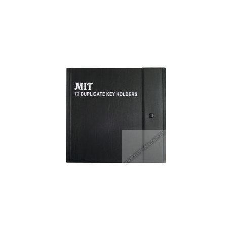 MIT 8701 Duplicate Key Holders 72's Black