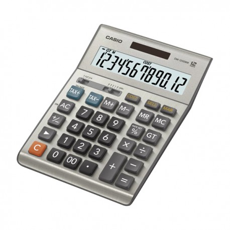 Casio DM-1200BM Calculator 12 Digits