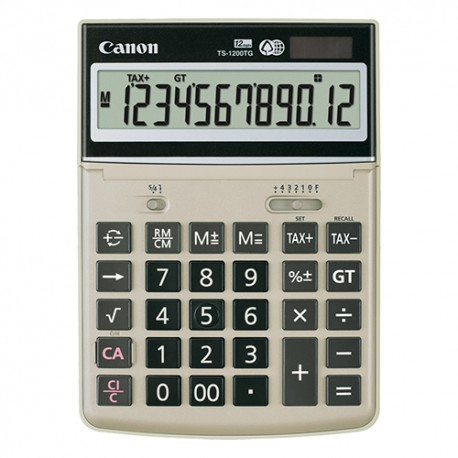Canon TS-1200TG Calculator 12 Digits