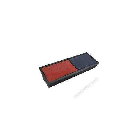 Shiny S-311-7B Phrases & Dater Chop Ink Pad For S-312 2Colors Blue&Red