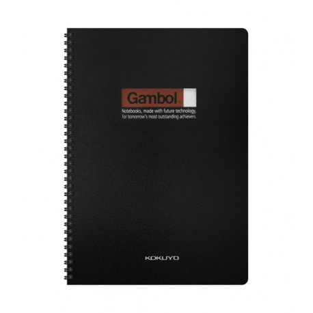 Gambol DS4000 PP Twins Wire Ring Note Book A4 80Pages