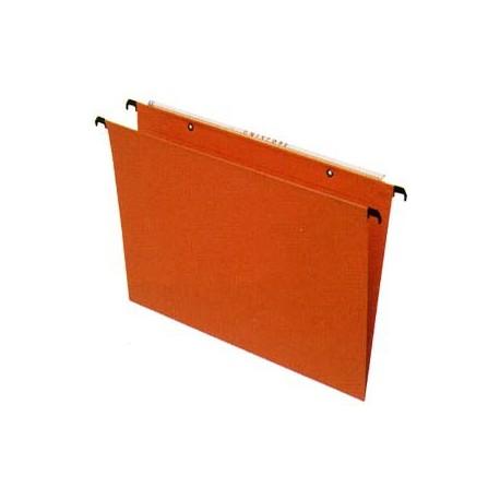 Esselte Orgarex 10402 Uniscope Hanging File F4 V Base Orange
