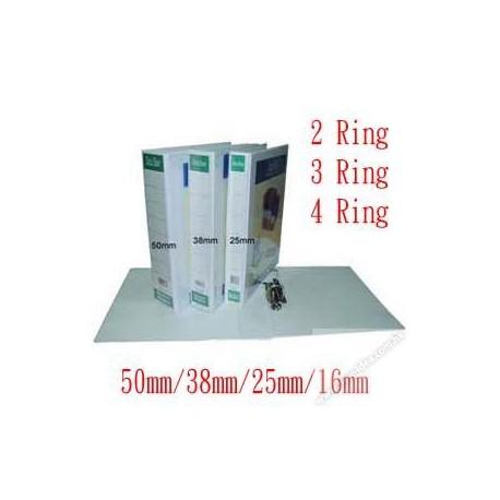 Database IB-512 2D Ring PVC Insert Binder A4 38mm Blue