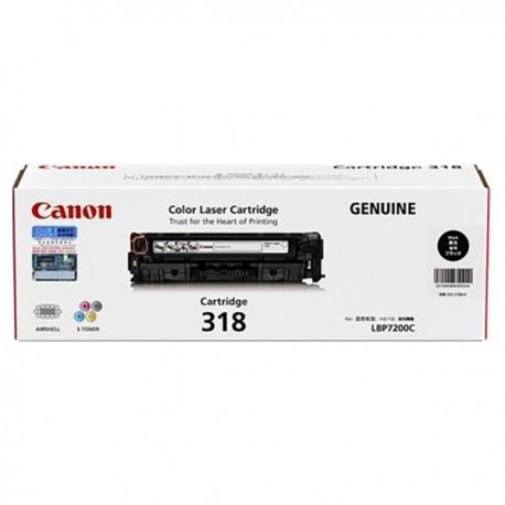 Canon 318 Toner Cartridge Black