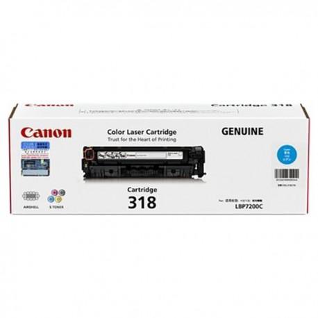Canon 318 Toner Cartridge Cyan