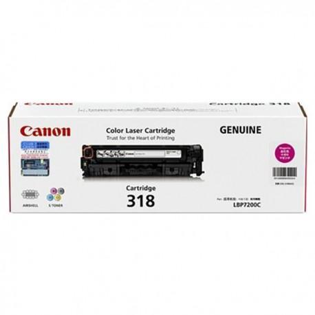 Canon 318 Toner Cartridge Magenta