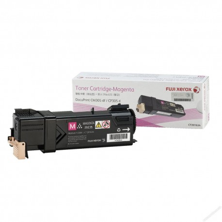 Fuji Xerox CT201634 Toner Cartridge Magenta
