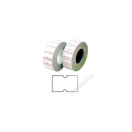 Price Labels 12mmx22mm 10Rolls White