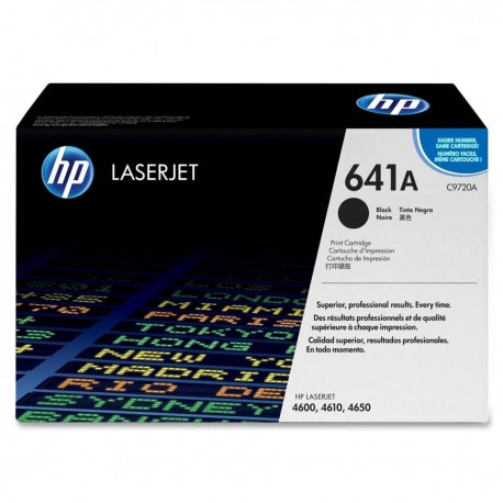 HP C9720A 641A Toner Cartridge Black