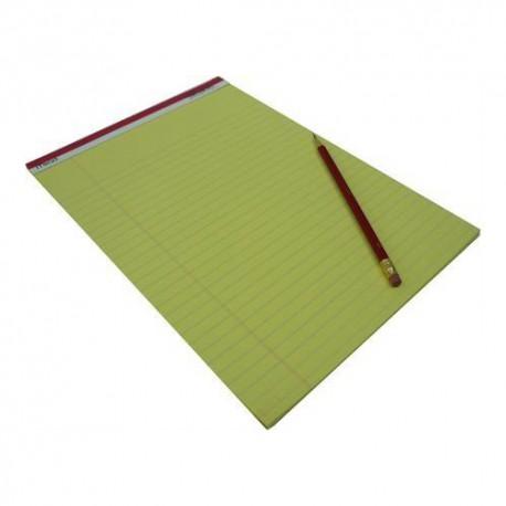 美德 59610 單行書寫簿 A4 50頁 黃色內頁