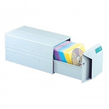 Aidata CD150B CD Home w/Lock For 150CDs