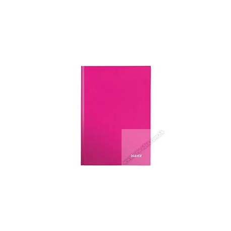 Leitz 4625 Gloss Hard Cover Book A4 80Pages Pink