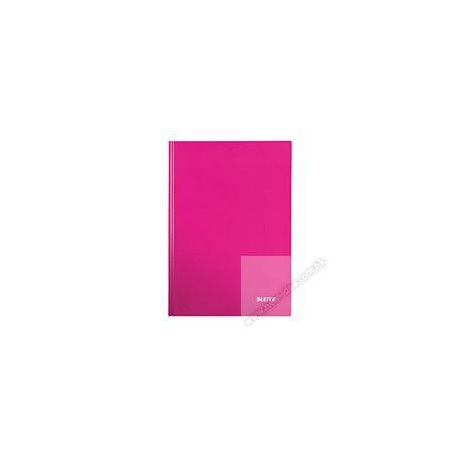 Leitz 4627 Gloss Hard Cover Book A5 80Pages Pink