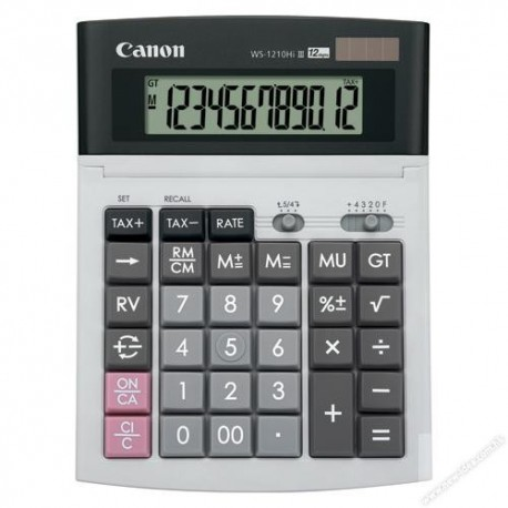 Canon WS-1210Hi III Calculator 12 Digits