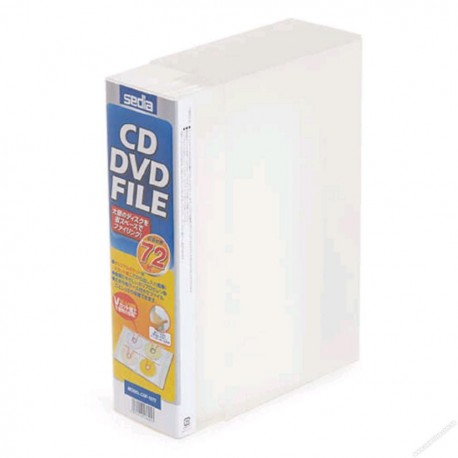 Sedia CDF-1072 CD/DVD File For 72CDs