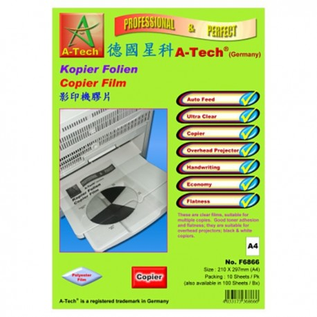 A Tech F6966 Copier Film A4 100's