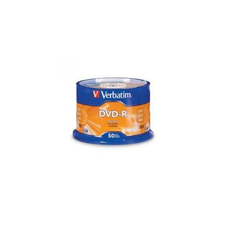 Verbatim DVD-R Disc 4.7GB 16x 50's Cake Pack