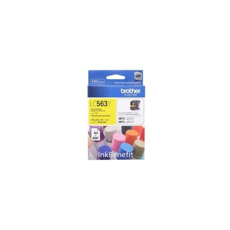 Brother LC-563Y Ink Cartridge Yellow