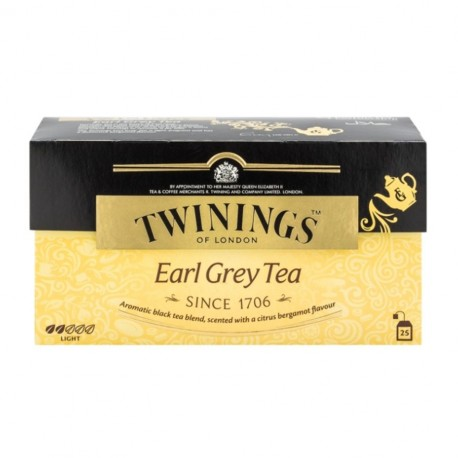 Twinings Teabags Earl Grey Tea 25's