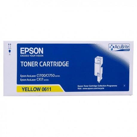 Epson S050611 Toner Cartridge Yellow