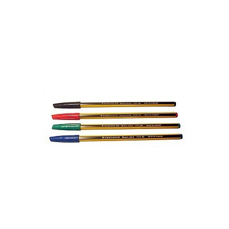 Staedtler 434 Noris Stick Ball Pen Blue