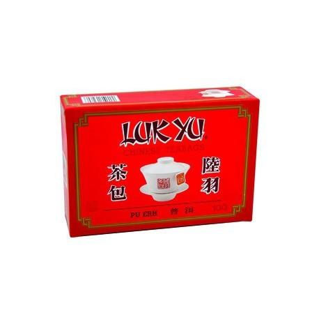 Luk Yu Chinese Teabags Pu Erh Tea 100's