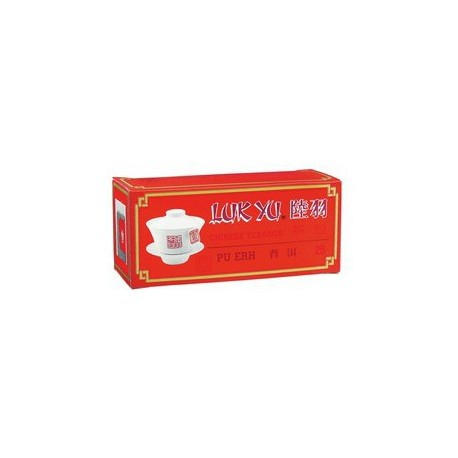 Luk Yu Chinese Teabags Pu Erh Tea 25's
